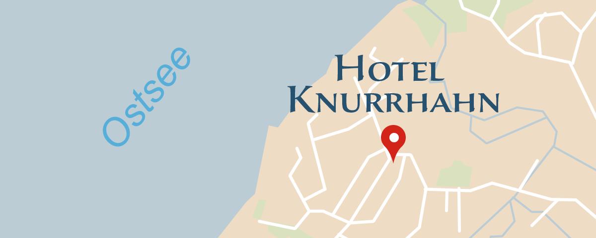 Hotel Knurrhahn in Glücksburg