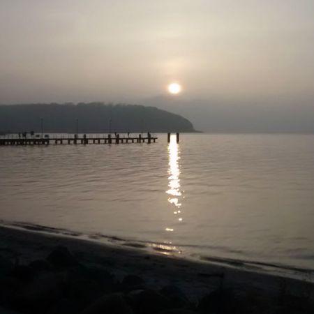 Sonnenaufgang am Glücksburger Strand